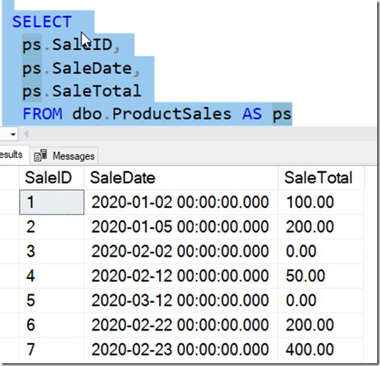 2021-09-20 15_48_24-SQLQuery2.sql - ARISTOTLE_SQL2017.sandbox (ARISTOTLE_Steve (62))_ - Microsoft SQ